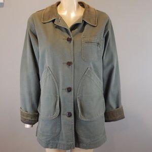 LL Bean Field Jacket womens Barn Coat Primaloft  S